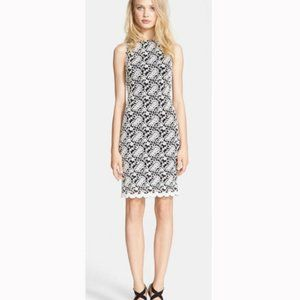 Alice and Olivia Floral Lace Sheath Dress Size 0